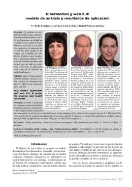 Cibermedios y web 2.0 - El profesional de la información