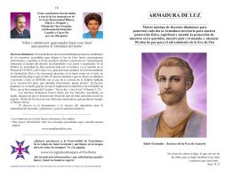 ARMADURA DE LUZ