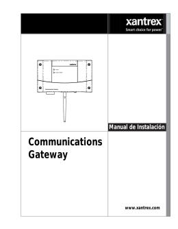 Guía de instalación Gateway