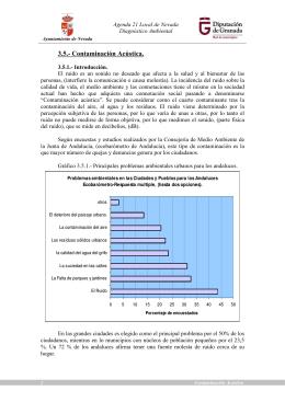 3.5.- Contaminación Acústica.