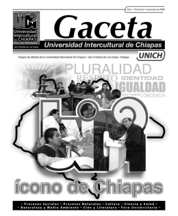 Las lenguas de Chiapas