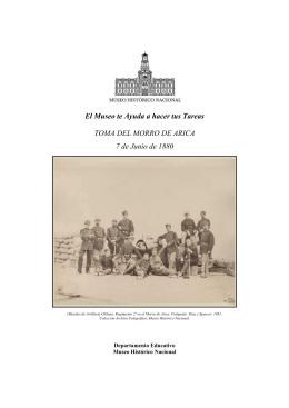 Toma Morro de Arica - Museo Histórico Nacional