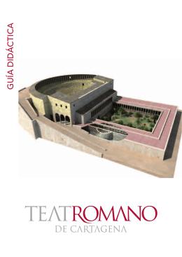 Guia didáctica del teatro romano de Cartagena