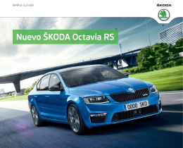 Nuevo ŠKODA Octavia RS