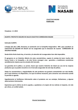 COLECTIVO NASABI PAMPLONA Pamplona 1-1