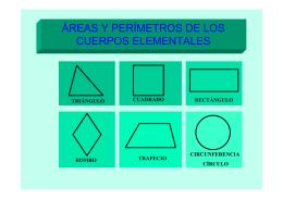 Area y Perimetro de las Figuras Geometricas.