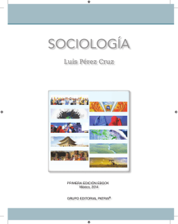 SOCIOLOGÍA - Grupo Editorial Patria