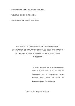 Tesis Airam Suárez - Saber UCV