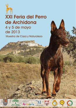Programa XXI Feria del Perro