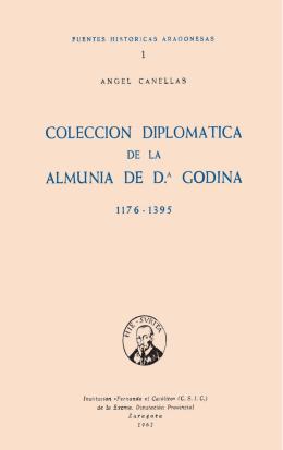 Colección diplomática de La Almunia de Dª. Godina. 1176-1395