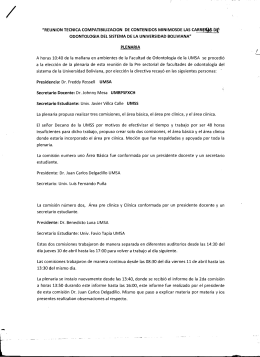 IIREUNION TECNICA COMPATIBILlZACION DE