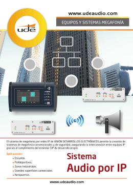 Audio por IP