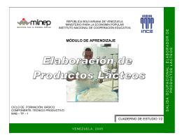 ELABORACION DE PRODUCTOS LACTEOS 1-2