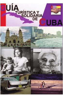 Guía Turística y Solidaria - Solidaridad Española con Cuba