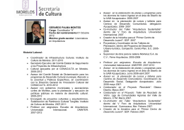 Historial Laboral - Transparencia Morelos