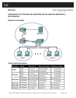 Solución Laboratorio 4.5.3: Examen de protocolos
