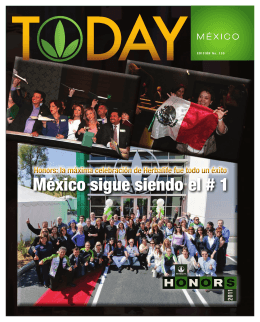 México sigue siendo el # 1