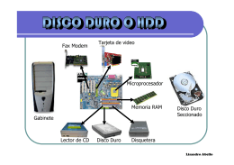 Gabinete Disquetera Tarjeta de video Fax Modem Disco Duro