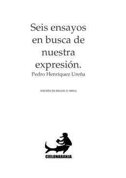 seis ensayos en busca de nuestra expresión (1928