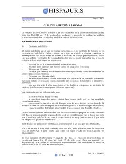 GUÍA DE LA REFORMA LABORAL