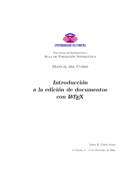 Introducción a la edición de documentos con