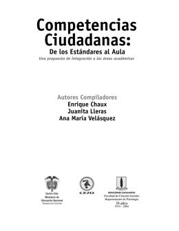 Competencias Ciudadanas: