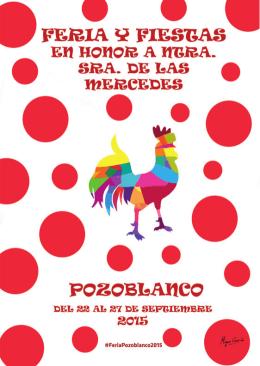 Programación Feria Pozoblanco 2015