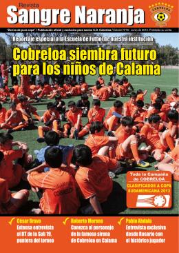 Cobreloa siembra futuro para los niños de Calama