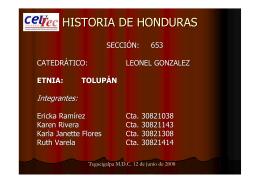 HISTORIA DE HONDURAS - Museos de Tegucigalpa