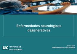 Enfermedades neurológicas degenerativas