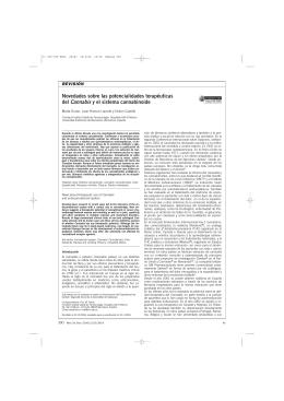 Novedades sobre las potencialidades terapéuticas del Cannabis y