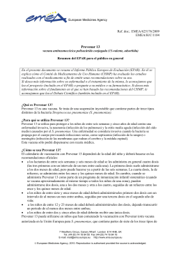 Prevenar 13, INN-Pneumococcal polysaccharide