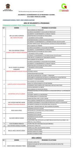 Archivo de la Organización de la SREBA