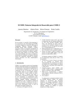 ECODE: Entorno Integrado de Desarrollo para CODE-2