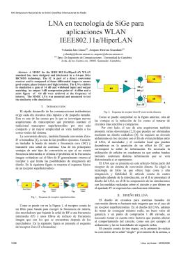 LNA en tecnología - Universidad de Cantabria