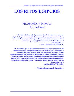 LOS RITOS EGIPCIOS - masoneria activa biblioteca