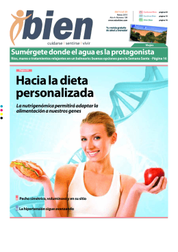 Hacia la dieta personalizada