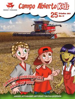 axial MF 9895 La nueva cosechadora