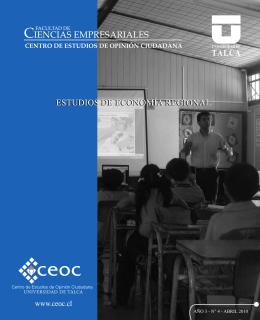 Estado de la Educación en Chile y Región del Maule
