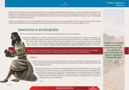 DIAGUITAS (CALCHAQUÍES) DIAGUITAS (CALC