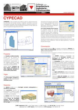 CYPECAD - CYPE Ingenieros