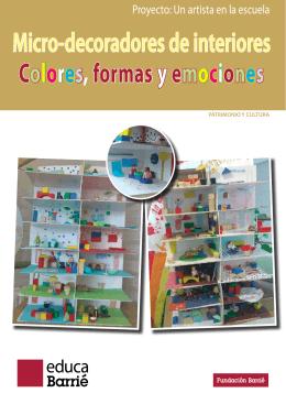 Micro-decoradores de interiores Colores, formasy emociones