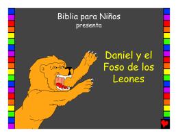 Daniel y el Foso de los Leones