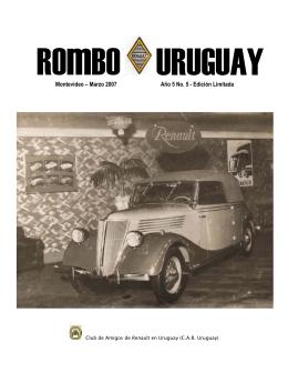 Montevideo – Marzo 2007 Año 5 No. 5 - Edición Limitada