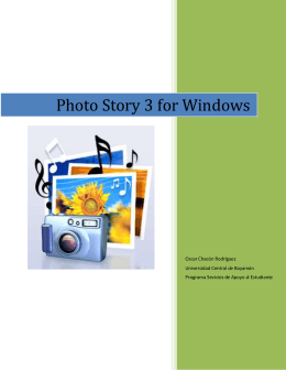 Photo Story 3 for Windows