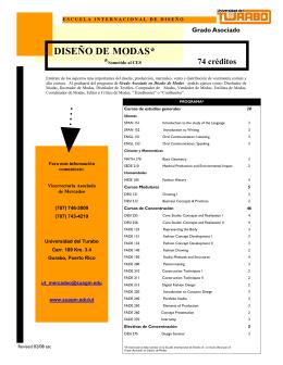 DISEÑO - DISEÑO DE MODAS