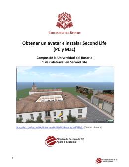 Obtener un avatar e instalar Second Life