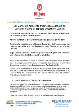 Las Zonas de Ambiente Pacificado a debate en Castaños y abre el