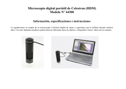 Manual para microscopio 44300