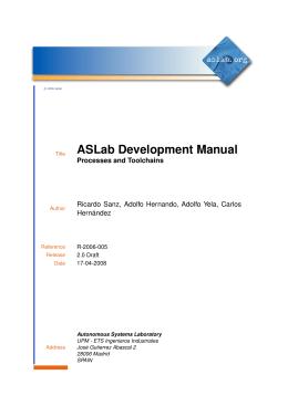 ASLab Development Manual